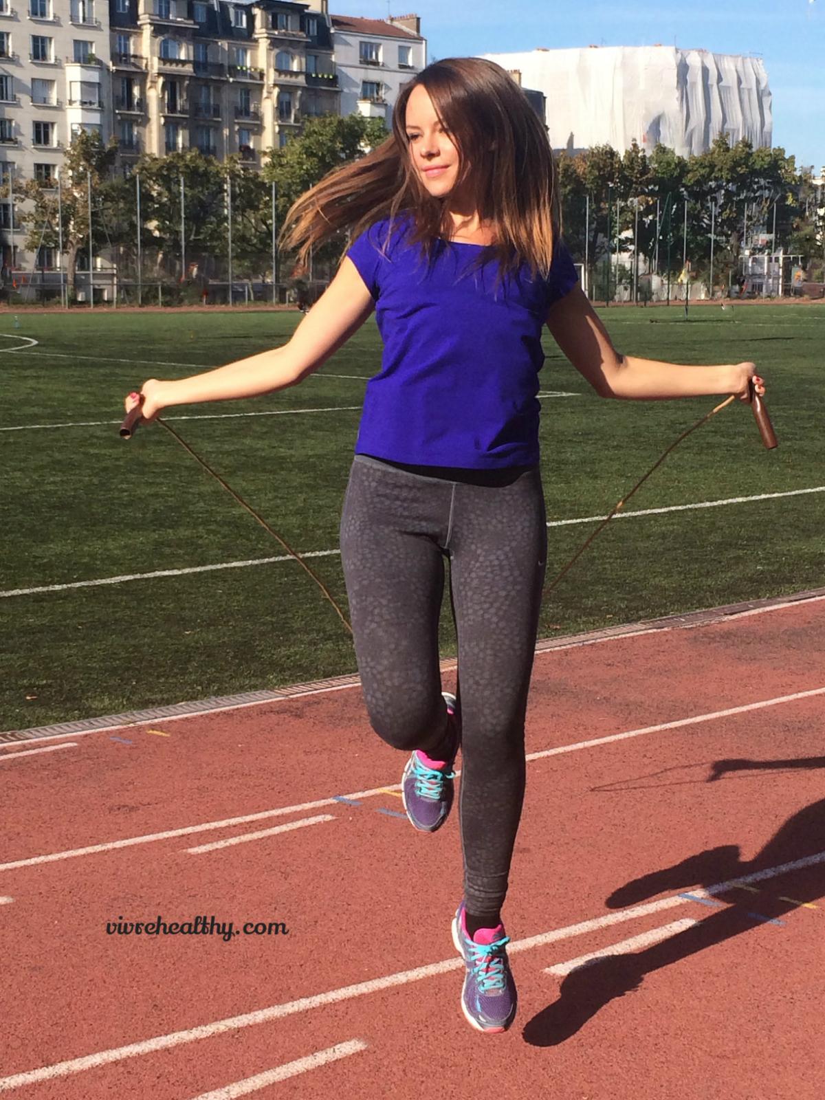 La corde à sauter, un exercice complet ! - Vivre healthy