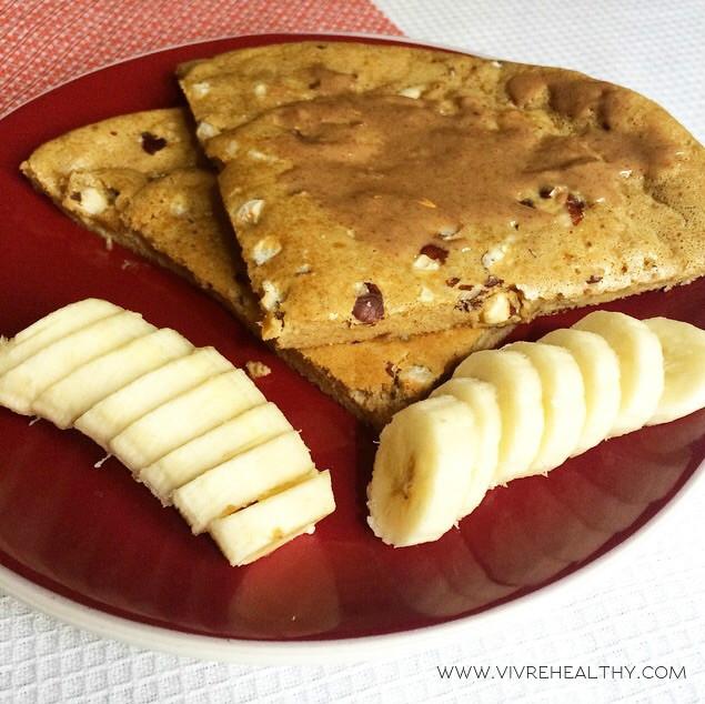 Pancake à la noisette – Vivre healthy